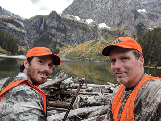 Moose hunting in Montana