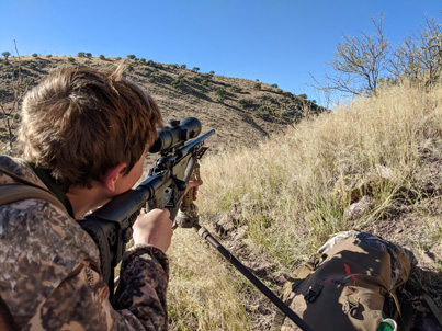 hunting Coues deer AZ 6.5 Creedmoor